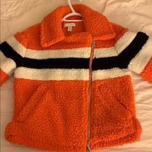 Topshop teddy jacket